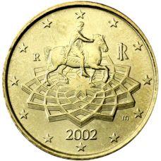 Italia 2002 50 c UNC