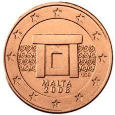Malta 2008 1 c UNC