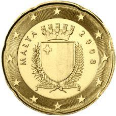 Malta 2008 20 c UNC