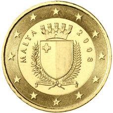 Malta 2008 50 c UNC
