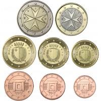 Malta 2019 1 c - 2 € Irtokolikot BU