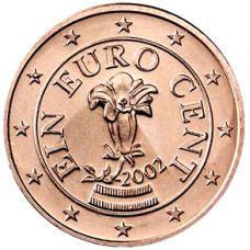 Itävalta 2002 1 c UNC