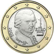 Itävalta 2002 1 € UNC