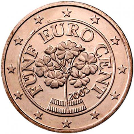 Itävalta 2003 5 c UNC