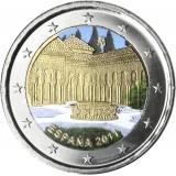 Espanja 2011 2 € Alhambra #2 VÄRITETTY
