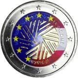 Latvia 2015 2 € EU-puheenjohtajuus VÄRITETTY