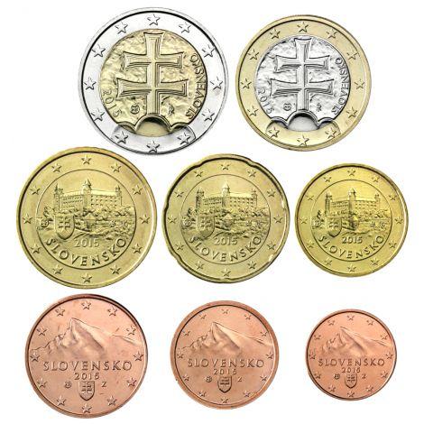 Slovakia 2019 1 c - 2 € Irtokolikot BU