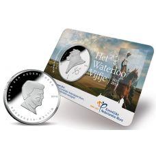 Alankomaat 2015 5 € Waterloo COINCARD UNC