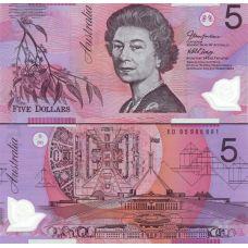 Australia 2005 5 Dollar P57c UNC