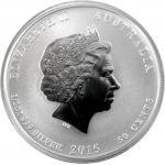 Australia 2015 50 Cents Vuohen vuosi 1/2 Unssi HOPEA