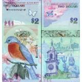 Bermuda 2009 2 Dollars P57a1 UNC