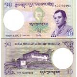 Bhutan 2006 10 Ngultrum P29a UNC
