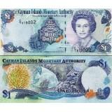 Caymansaaret 2009 1 $ P33d UNC