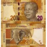 Etelä-Afrikka 2012 20 Rand P134 UNC