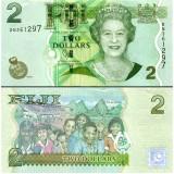 Fiji 2011 2 Dollars P109b UNC