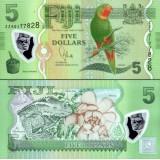 Fiji 2012 5 Dollars P115 UNC