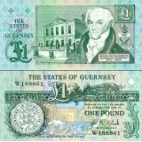 Guernsey 2009 1 Pound P52c UNC