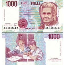 Italia 1990 1 000 Lire P114b UNC