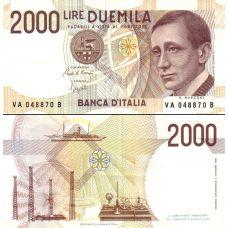 Italia 1990 2 000 Lire P115 UNC
