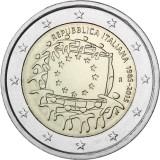 Italia 2015 2 € EU:n lippu 30v UNC