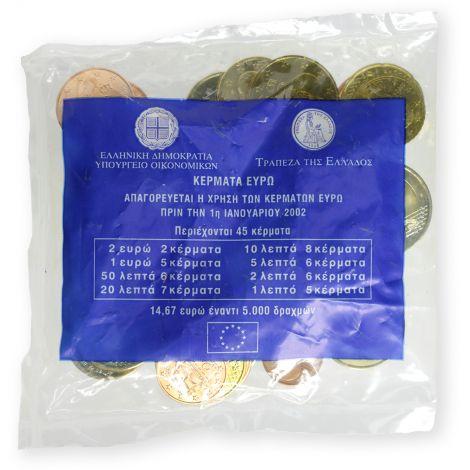 Kreikka 2002 14,67 € Starttipussi