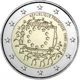 Ranska 2015 2 € EU:n lippu 30v UNC