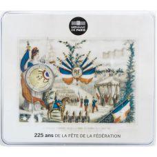 Ranska 2015 2 € Fête de la Fédération COINCARD