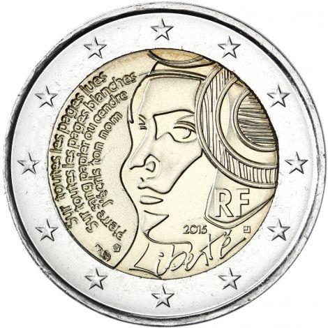 Ranska 2015 2 € Fête de la Fédération UNC