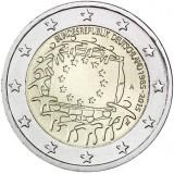 Saksa 2015 2 € EU:n lippu 30v A UNC