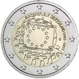 Saksa 2015 2 € EU:n lippu 30v G UNC