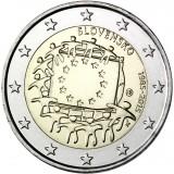 Slovakien 2015 2 € EU:n lippu 30v UNC