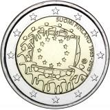 Suomi 2015 2 € EU:n lippu 30v UNC