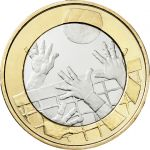 Suomi 2015 5 € Urheilurahat - Lentopallo PROOF