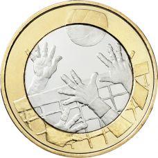 Suomi 2015 5 € Urheilurahat - Lentopallo UNC