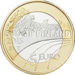 Suomi 2015 5 € Urheilurahat - Taitoluistelu PROOF