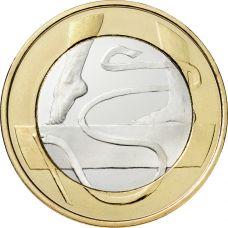 Suomi 2015 5 € Urheilurahat - Voimistelu UNC