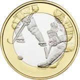 Suomi 2016 5 € Urheilurahat - Jääkiekko UNC