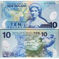 Uusi-Seelanti 2007 10 Dollar P186b UNC