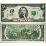 Yhdysvallat 2009 $2 UNC