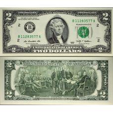 Yhdysvallat 2009 $2 P530A UNC