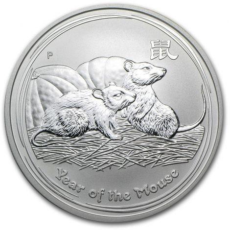 Australia 2008 1 Dollar Year of the Mouse 1 Unssi HOPEA BU