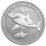 Australia 2014 50 Cents Great White Shark 1/2 Unssi HOPEA BU