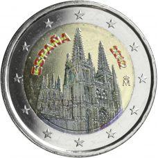 Espanja 2012 2 € Burgos #2 VÄRITETTY