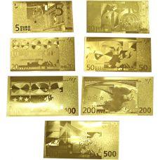 Euroopan Unioni 5 - 500 € KULLATTU