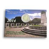 Kreikka 2014 2 € Jooniansaaret BU COINCARD