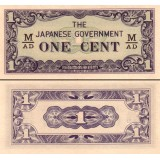 Malaya 1942 1 Cent P-M1b UNC