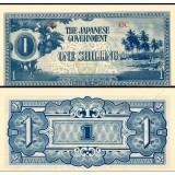 Oseania 1942 1 Shilling P2a UNC