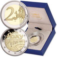 Ranska 2014 2 € Normandian maihinnousu 70 vuotta PROOF