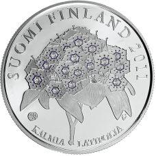 Suomi 2011 10 € Pehr Kalm HOPEA PROOF