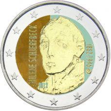 Suomi 2012 2 € Helene Schjerfbeck #2 VÄRITETTY